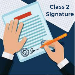 Class 2 digital Signature