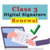 Class 3 Digital Signature Renewal